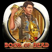 logo book of dead.