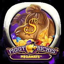 logo piggy riches slot.